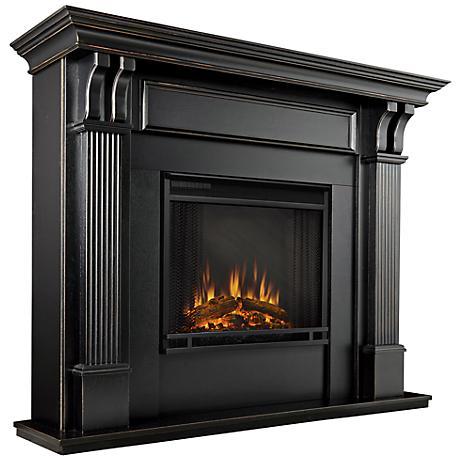 real flame ashley blackwash mantel electric fireplace. Black Bedroom Furniture Sets. Home Design Ideas