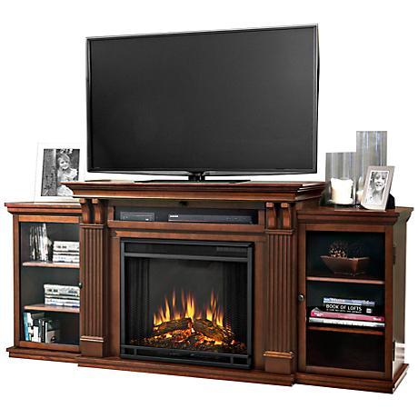 Real Flame Calie Entertainment Unit Electric Fireplace 6t183 Lamps Plus
