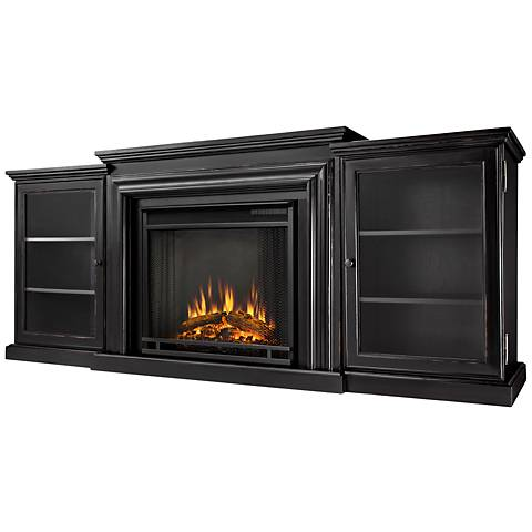 Real Flame Frederick Blackwash Mantel Electric Fireplace