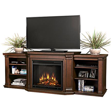 Real Flame Valmont Chestnut Oak Electric Fireplace