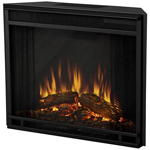 Real Flame Black Electric Firebox