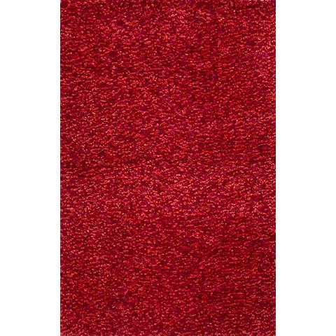 Jaipur Castilla CAA07 Red Shag Area Rug