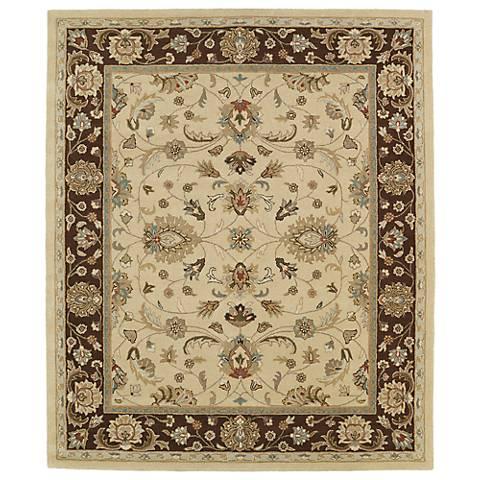 Kaleen Taj TAJ08-05 Gold Wool Area Rug