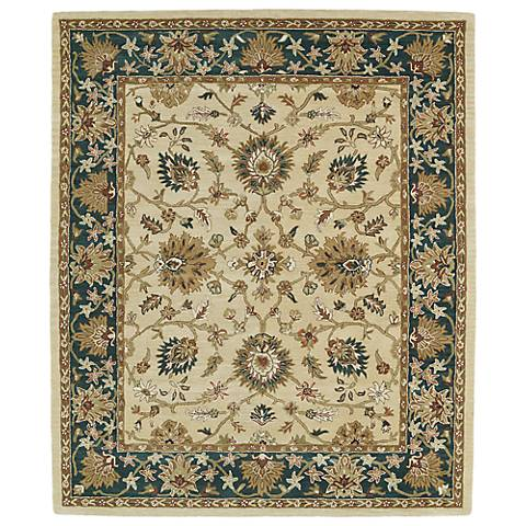 Kaleen Taj TAJ09-05 Gold Wool Area Rug
