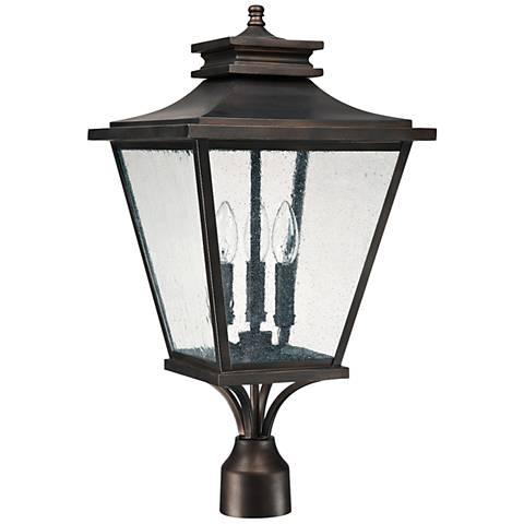 "Capital Gentry 23 1/2"" High Old Bronze Outdoor Post Light"