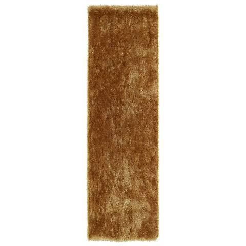 Kaleen Posh PSH01-05 Gold Shag Area Rug