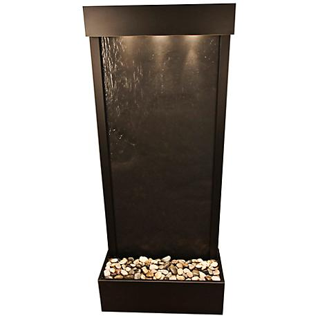 Harmony River Bronze Indoor Black Featherstone Fountain