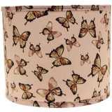 Blushing Butterflies 12x12x10 Drum Shade (Spider)