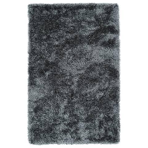 Kaleen Posh PSH01-75 Gray Shag Area Rug