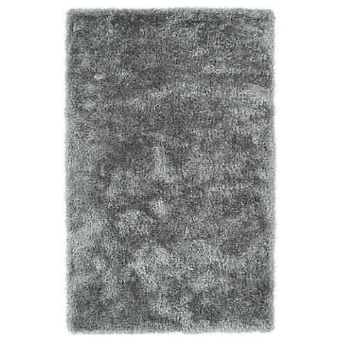 Kaleen Posh PSH01-77 Silver Shag Area Rug
