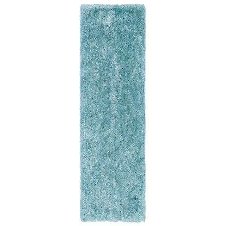Kaleen Posh PSH01-79 Light Blue Shag Area Rug