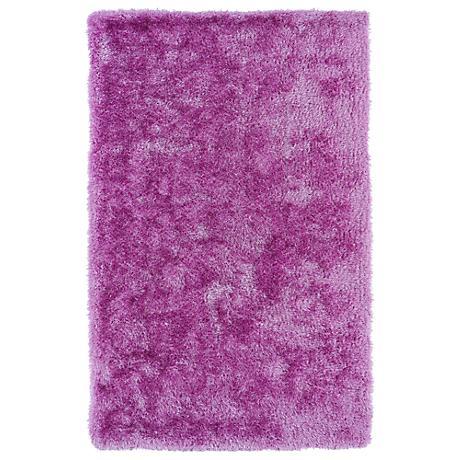 Kaleen Posh PSH01-90 Lilac Shag Area Rug