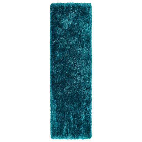 Kaleen Posh PSH01-91 Teal Shag Area Rug