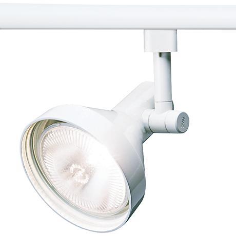 wac 738 l white track head for lightolier 6v864 lamps plus. Black Bedroom Furniture Sets. Home Design Ideas