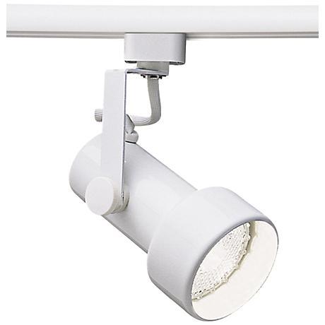 wac 725 l white track head for lightolier 6v866 lamps plus. Black Bedroom Furniture Sets. Home Design Ideas