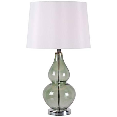 Kenroy Home McCauley Spruce Glass Table Lamp
