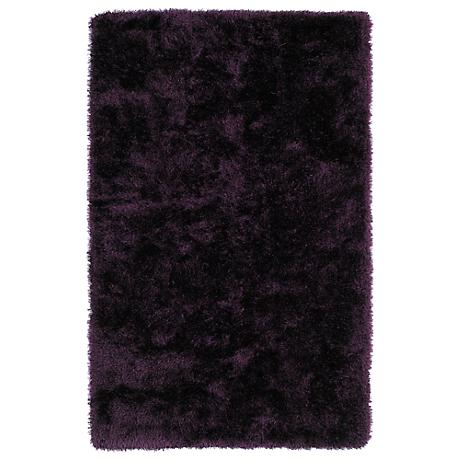 Kaleen Posh PSH01-95 Purple Shag Area Rug