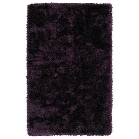 Kaleen Posh PSH01-95 Purple Shag Area Rug