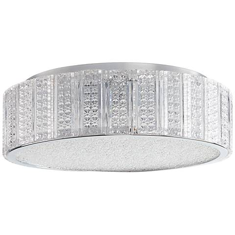 "Aaria 14 1/2"" Wide Medium Clear Glass Ceiling Light"