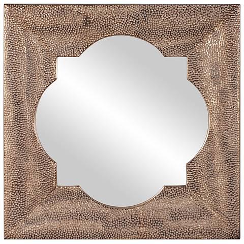 "Howard Elliott Raymus 40"" Square Wall Mirror"