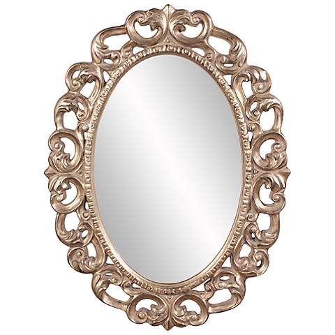 "Howard Elliott Ansel 34"" x 46"" Wall Mirror"