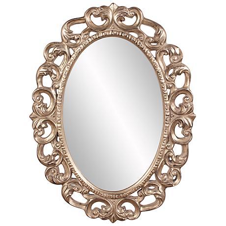 """Howard Elliott Ansel 34"""" x 46"""" Wall Mirror"""