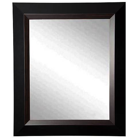 "Maynerd Brown Lining 29 3/4"" x 35 3/4"" Wall Mirror"