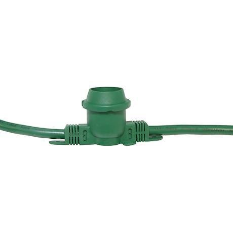 Green 48-Foot 24-Light DIY String Light Kit