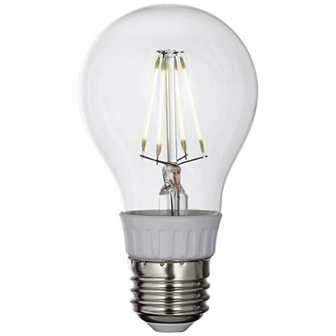 4 Watt Clear Filament Dimmable A19 LED Bulb