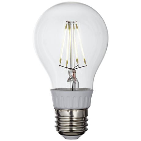4 Watt Clear Filament Dimmable A19 LED Bulb