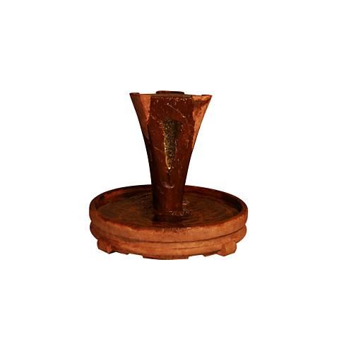 """Henri Studio 34"""" High Relic Lava Small Vesuvio Fountain"""
