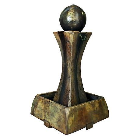 Henri Studio Relic Nebbia Low Hourglass Fountain