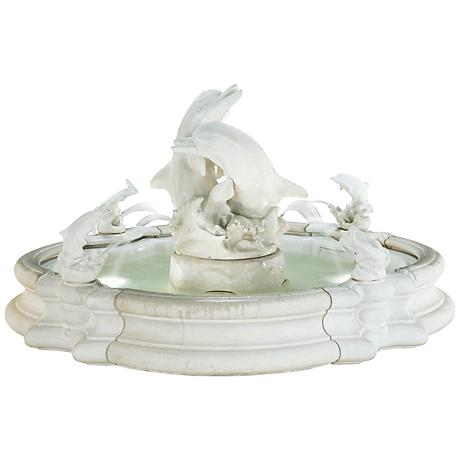 Henri Studio Natural Grande Millennium Dolphin Fountain