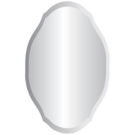"Erath 24"" x 36"" Frameless Wall Mirror"