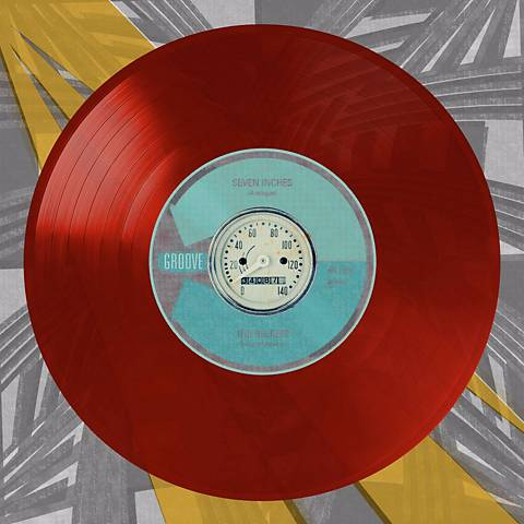 "Viva Vinyl - Speed 24"" Square Canvas Wall Art"