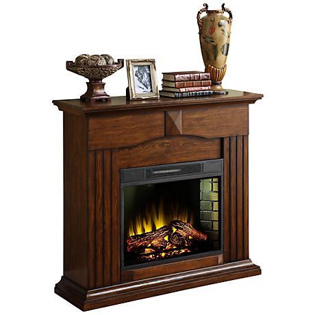 Jessica Oak Electric Fireplace