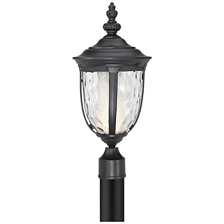 "Bellagio™ 21"" High LED Black Outdoor Post Light"