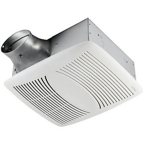 Bathroom Ventilation nutone ez fit white 80 cfm bathroom ventilation fan - #6y585