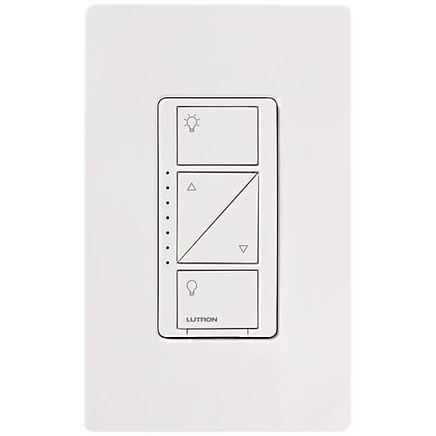Lutron Caseta White 600 Watt Wall Dimmer