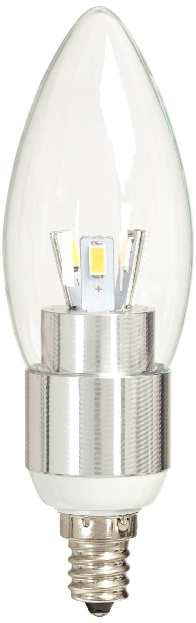 40w equivalent clear 5w led 12 volt candelabra bulb