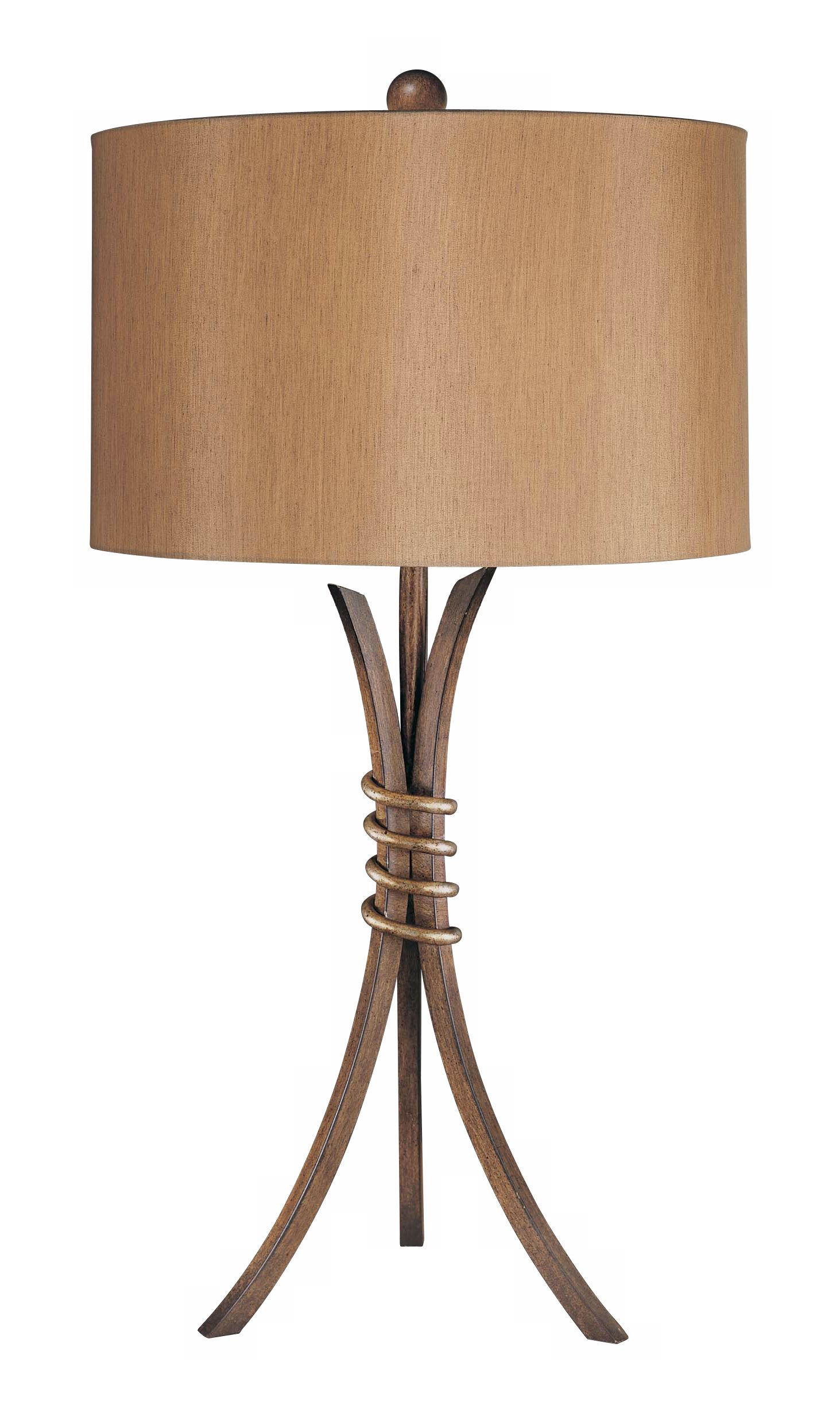 Delightful Ambience Iron Tripod Table Lamp