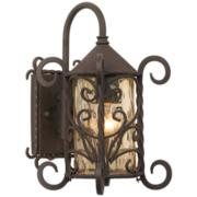 """Casa Seville™ Iron Scroll 13 1/4""""H Outdoor Light"""