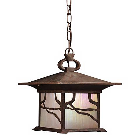"Kichler Decorative Vine 13"" High Hanging Outdoor Light"