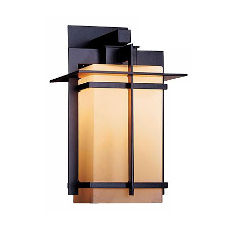"""Hubbardton Forge Tourou Bronze 14"""" High Outdoor Wall Sconce"""