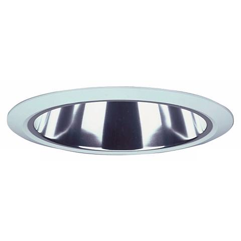 "Lithonia 6"" Clear Alzak Trim Recessed Light"