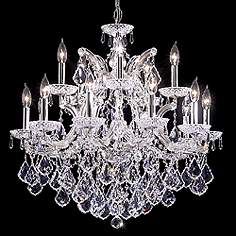 James R Moder Maria Theresa Grand 29 Wide Chandelier