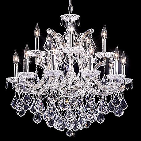 """James R. Moder Maria Theresa Grand 29"""" Wide Chandelier"""