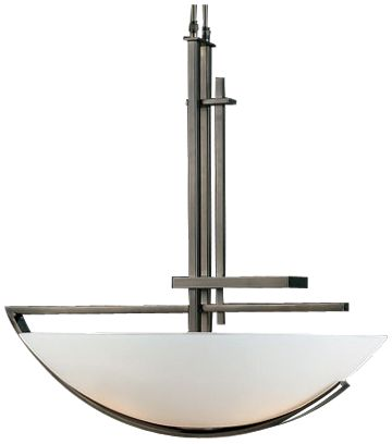 hubbardton forge fullered collection pendant chandelier - Hubbardton Forge