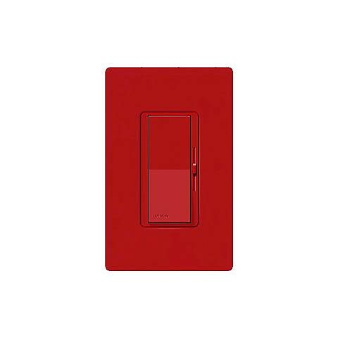 Lutron Diva SC 600W Single Pole Hot Red Dimmer