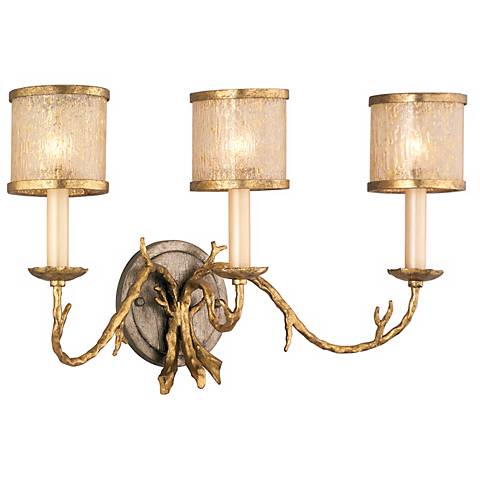 "Corbett Parc Royale 3-Light 12"" High Wall Sconce"
